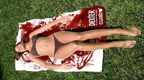 Toalla para el lanzamiento de Dexter