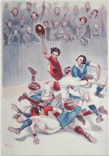 Erotic Rugby c1930