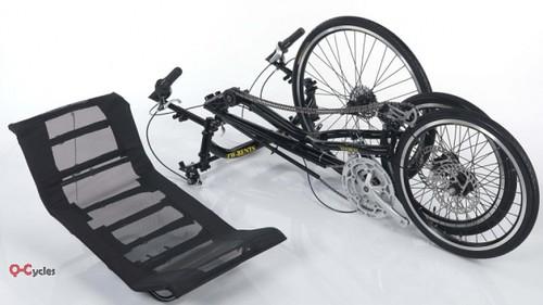 Q-Cycles Liegedreirad Troms Trike faltbar