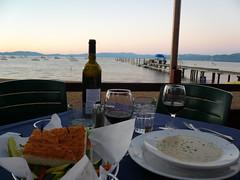Lakeside Dinner
