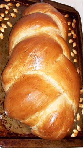 Finished Challah without sesame seeds
