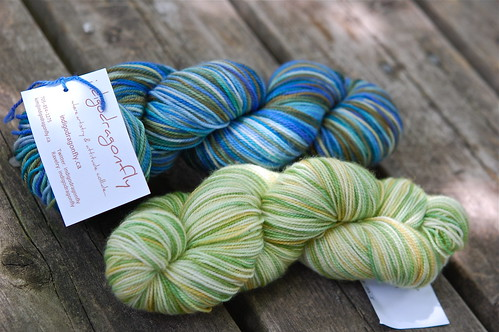 Indigodragonfly yarn