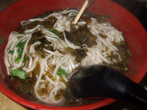 Chinese noodles, sour