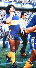 Diego Armando Maradona ai tempi del Boca