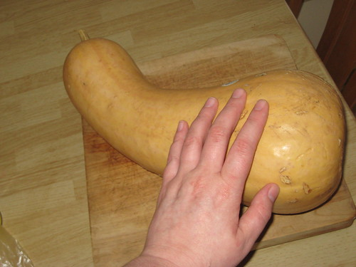 it's a big squash.  or was.