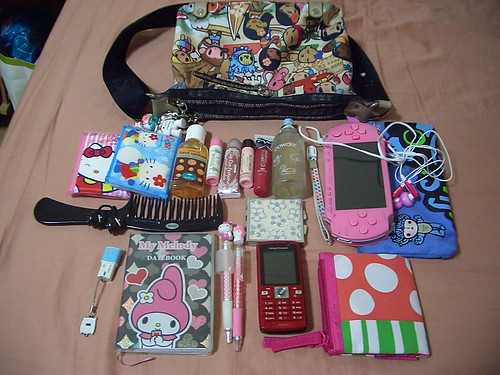 whats in my bag? by superstargirl