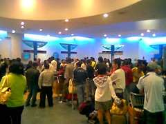 Penang airport check-in