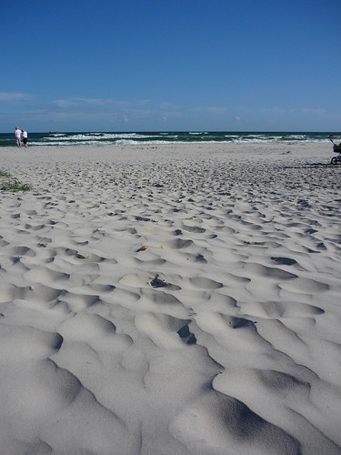 Sandhammaren's beach