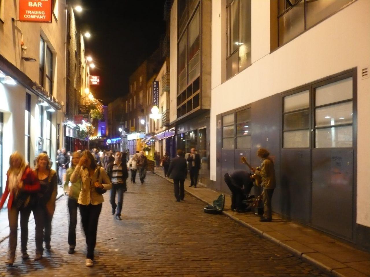 the Temple Bar de Dublin