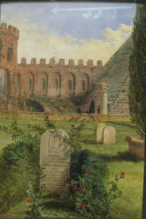 Keats's Grave, by William Bell Scott
