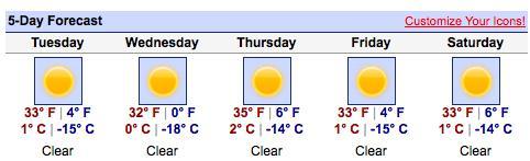 McMurdo Weather
