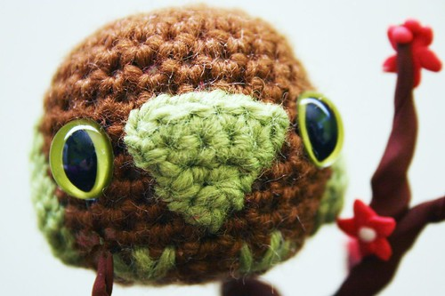 * SO cute!  I love amigurumi!