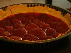 Tarte Fraise-Rhubarbe