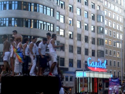 Capitol y amigos, Madrid pride 2008