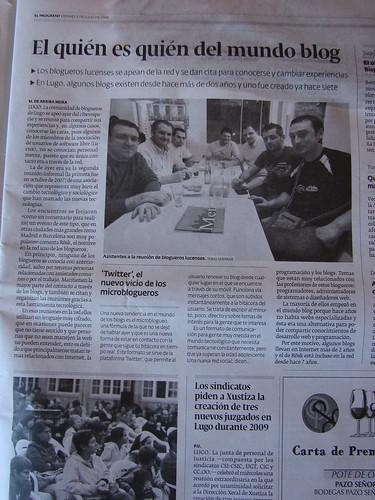 II Beers&Blogs en diario El Progreso