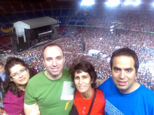 Camp Nou 19-julio-2008 Nosotros