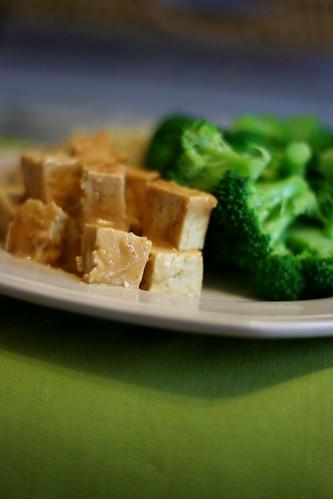 Cashew Ginger Tofu