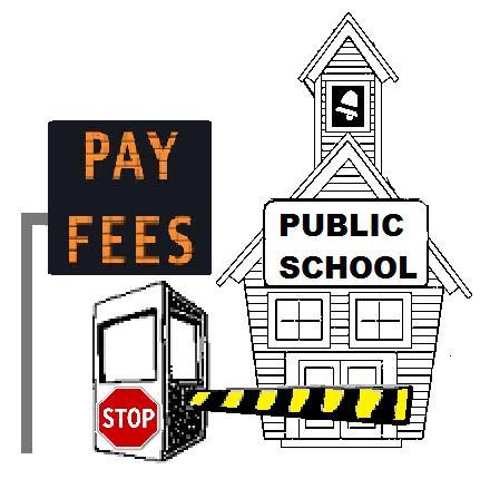 U.S. Public School Fees -- Sign of Third World Education