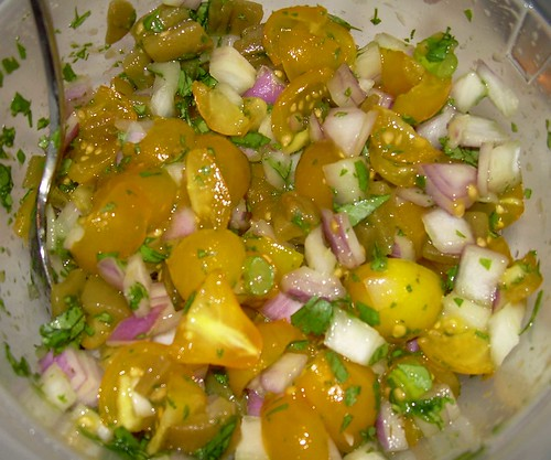 Yellow Tomato Salsa