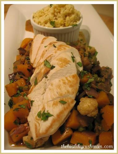 Autumn Tagine with Grilled Chicken