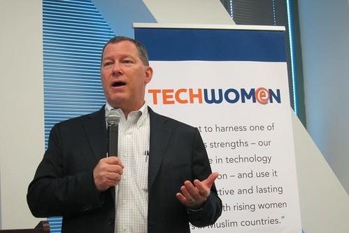 Mark Bregman Symantec TechWomen