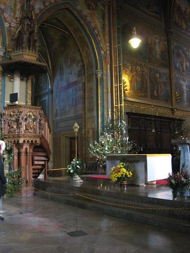 Inside St Peter and Paul Church, Vyšehrad