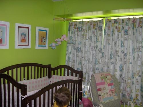 sweet vintage curtains