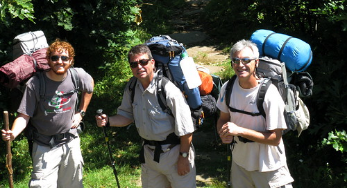 The Backpacking Team by you.