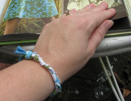 rag bracelet
