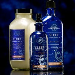 Bath & Body Works: Sleep - Warm Milk & Honey