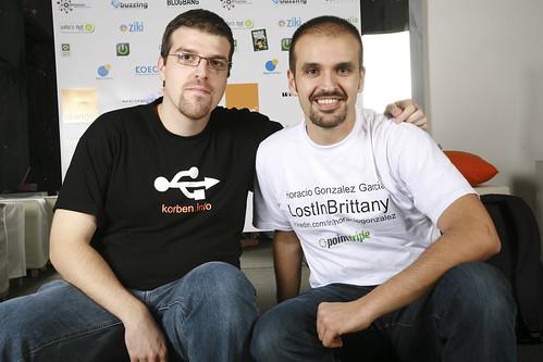 LiB et Korben en Webdeux.connect
