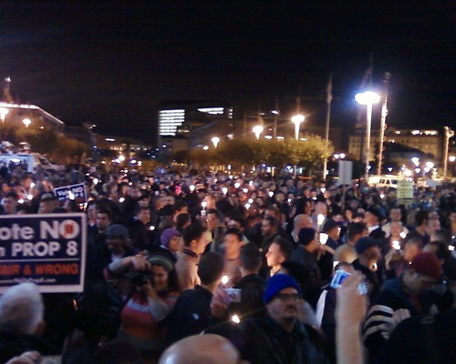 SF Civic Center on November 5 - Courtesty Chris Burwell