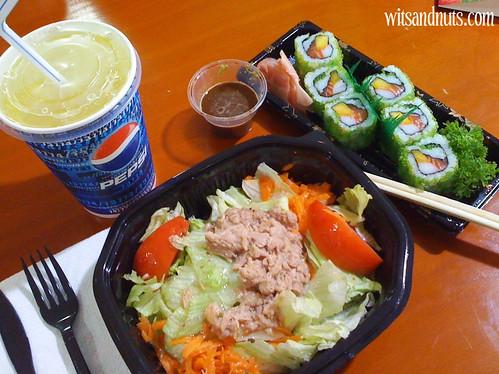 makki and tuna salad