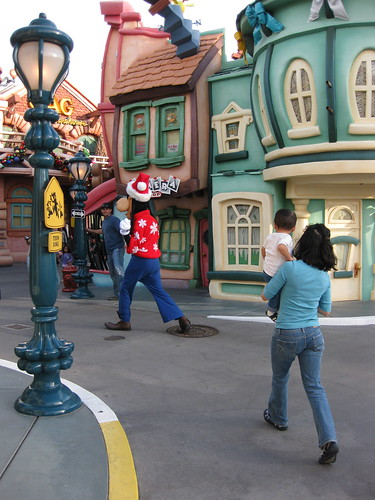 Although we had to practically chase him across Toontown