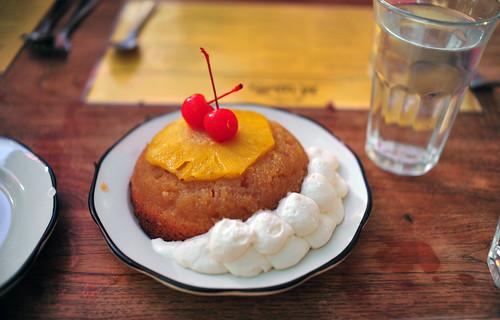 Upside-Down Pineapple Cake