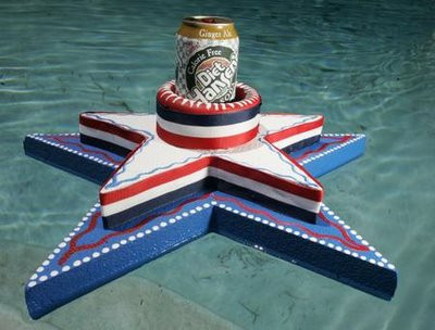 4th of July Craft: Pool Float