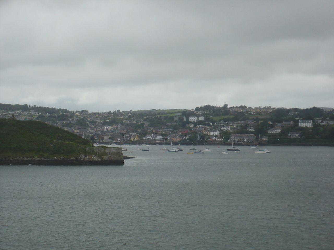 Kinsale desde el Charles's Fort