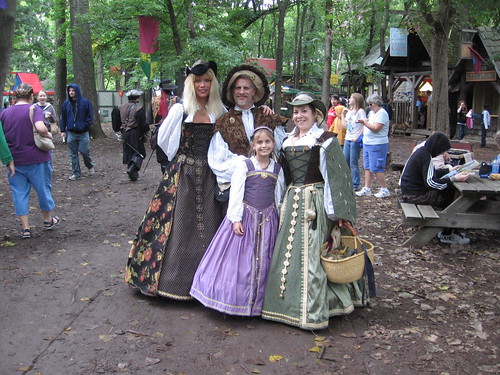 The Four of Us at the KC Renfaire