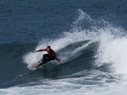 Capable surfer