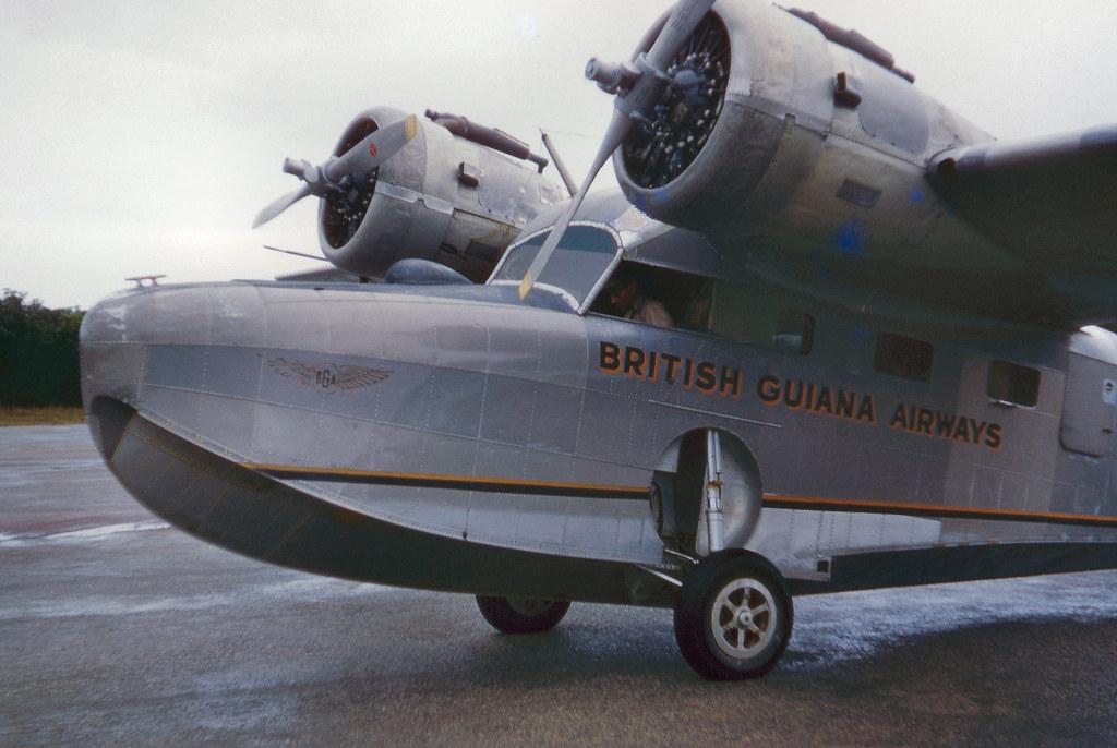 Grumman Goose at the MacKenzie Airstrip, MacKenzie, Guyana
