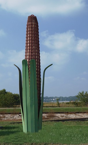 Corncob Sculpture