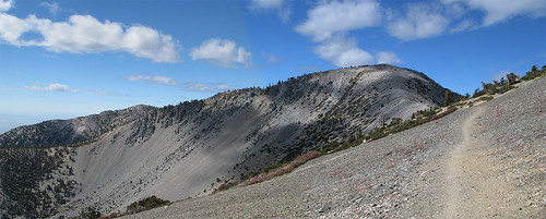 Baldy Trail Photomerge
