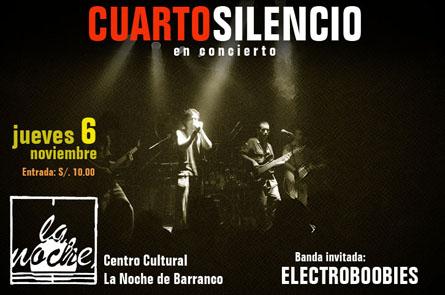 Afiche Cuarto Silencio