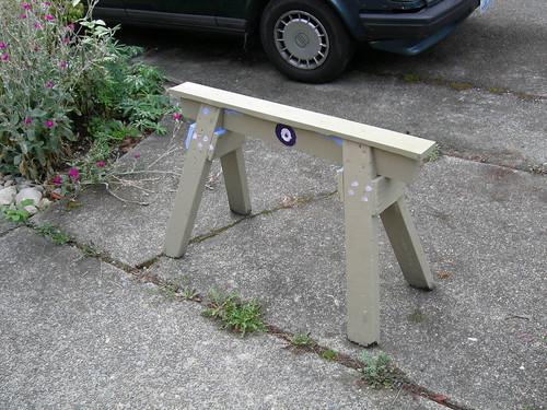 Skinny bench or sawhorse?