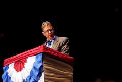 Gary Johnson at the Rally for the Republic