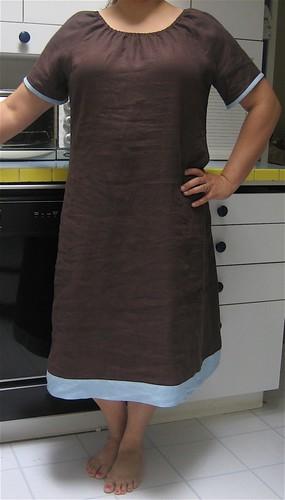 Easy Linen Dress