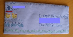 Arden's envelope from Sara_address blocked