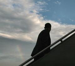 Barack Obama rainbow