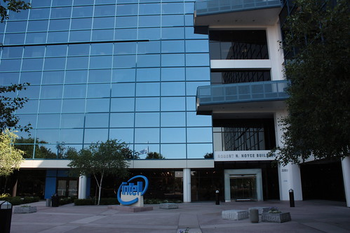 Entrance of Intel Corporation