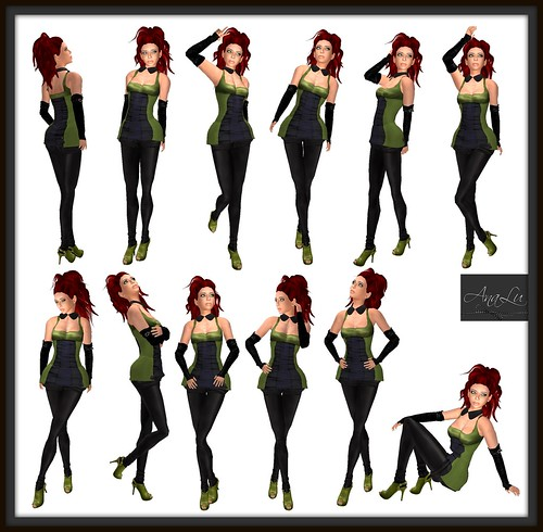 -AnaLu- *fresh poses* (349-360)